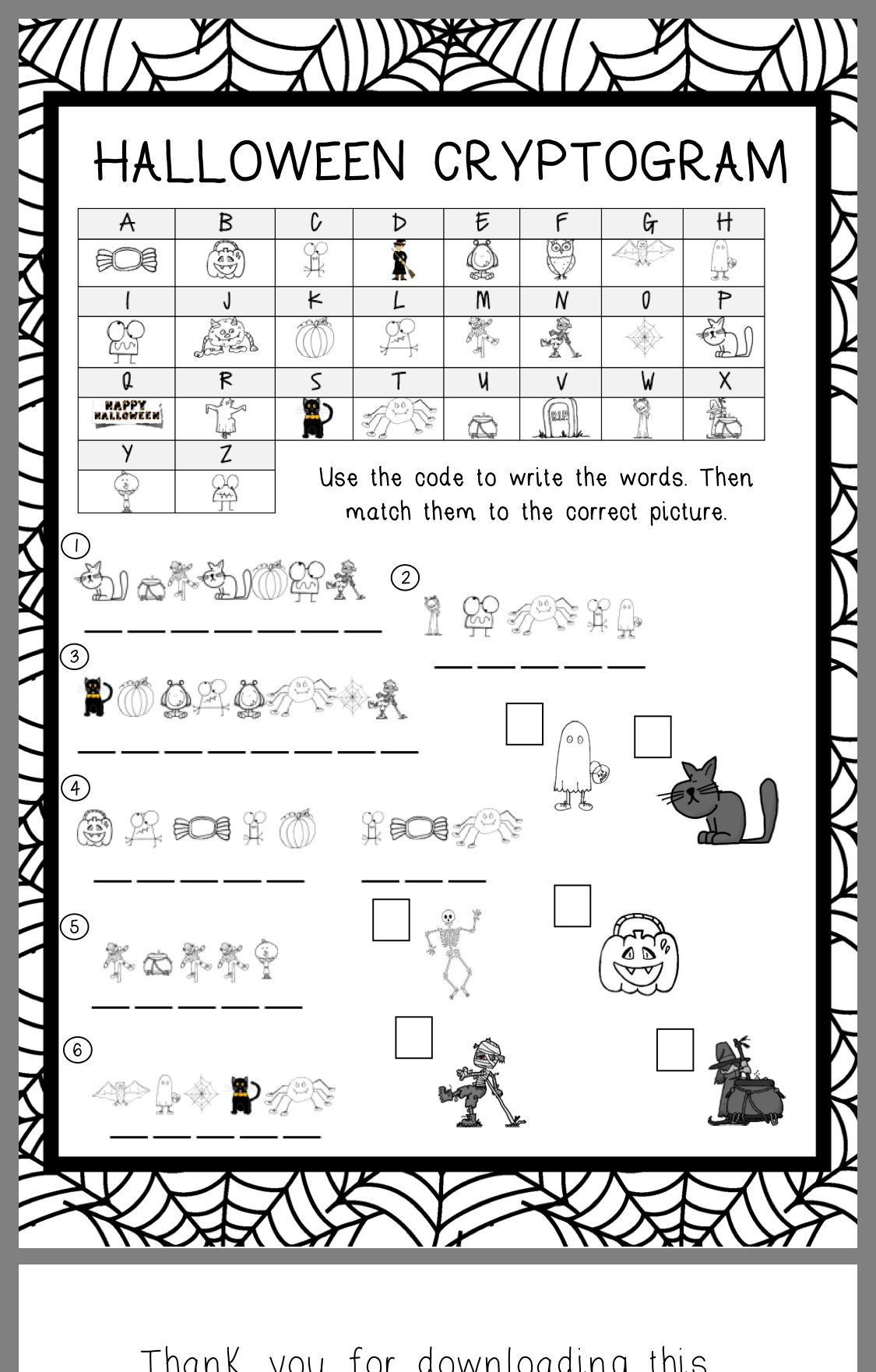 - Pin By Jackie Parker On Science 6 Halloween Worksheets