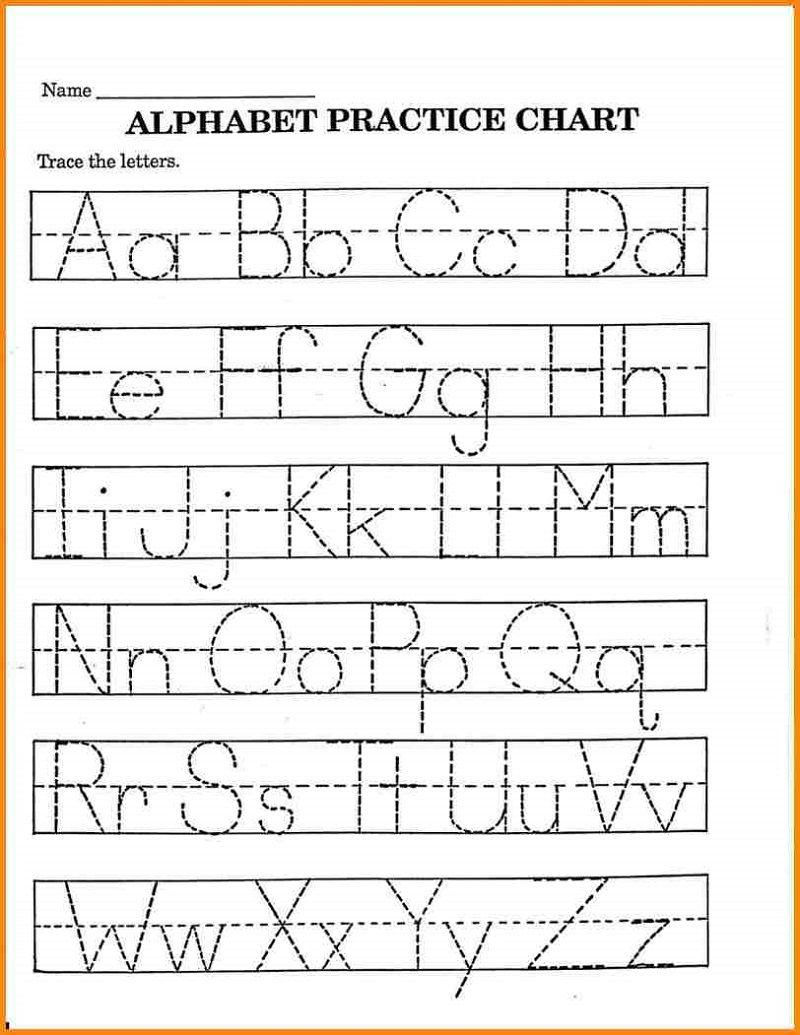 - Pre K Math Worksheets Alphabet – Learning Printable Preschool On