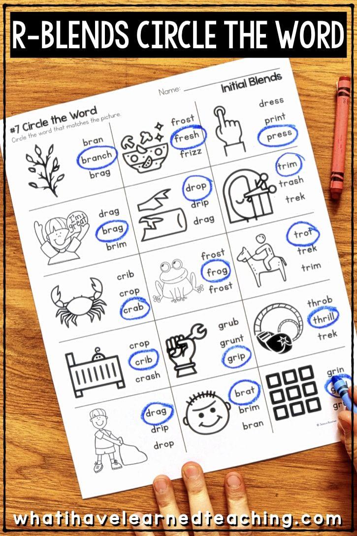20 Best 1st Grade Phonics Worksheets Blends images on Best ...