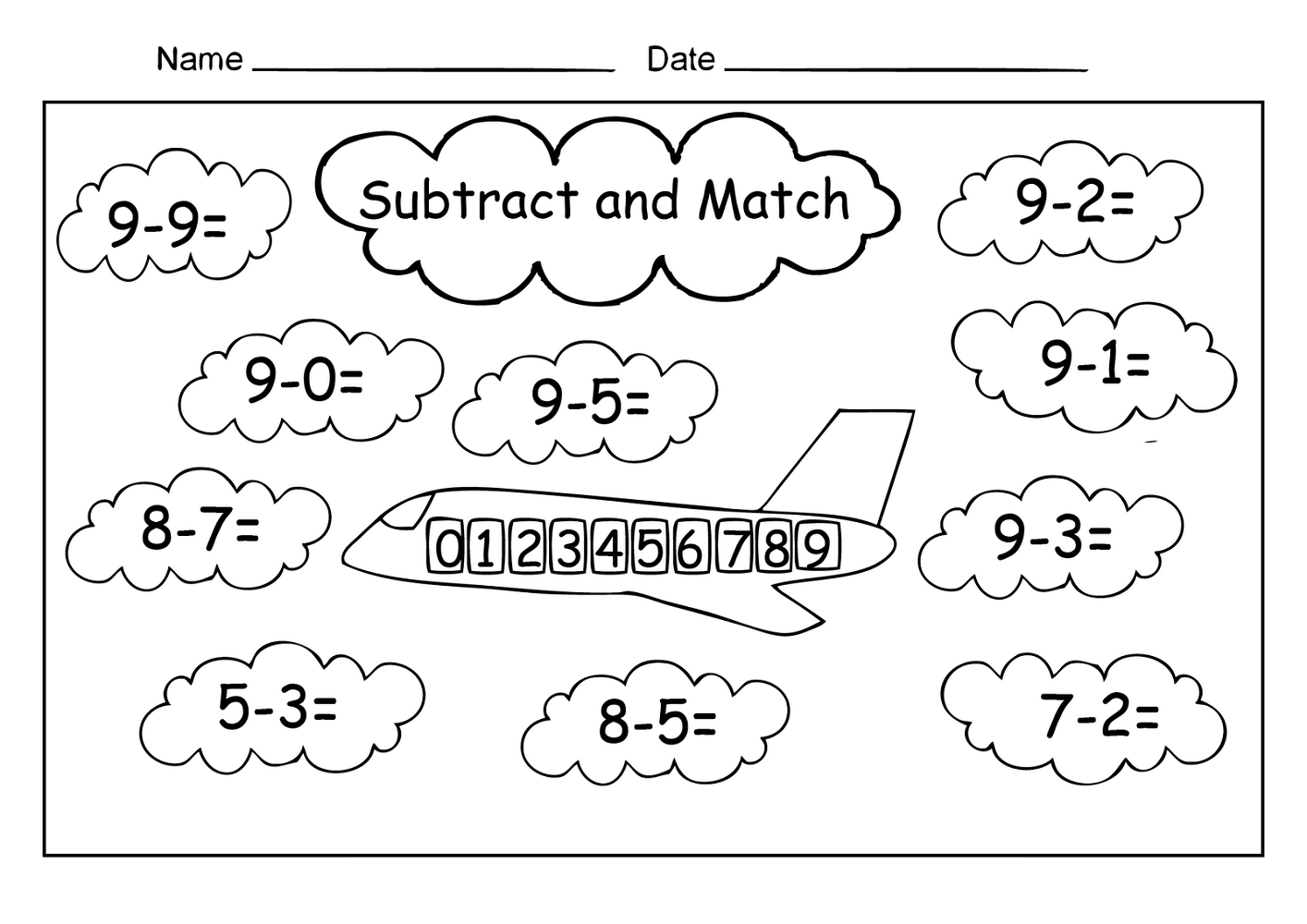 - Free Easy Math Worksheets For 1st Grade Math Worksheets On Best