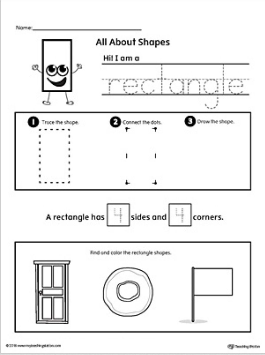 - Pin By Bethany Gere On My Classroom Shapes Worksheets On Best