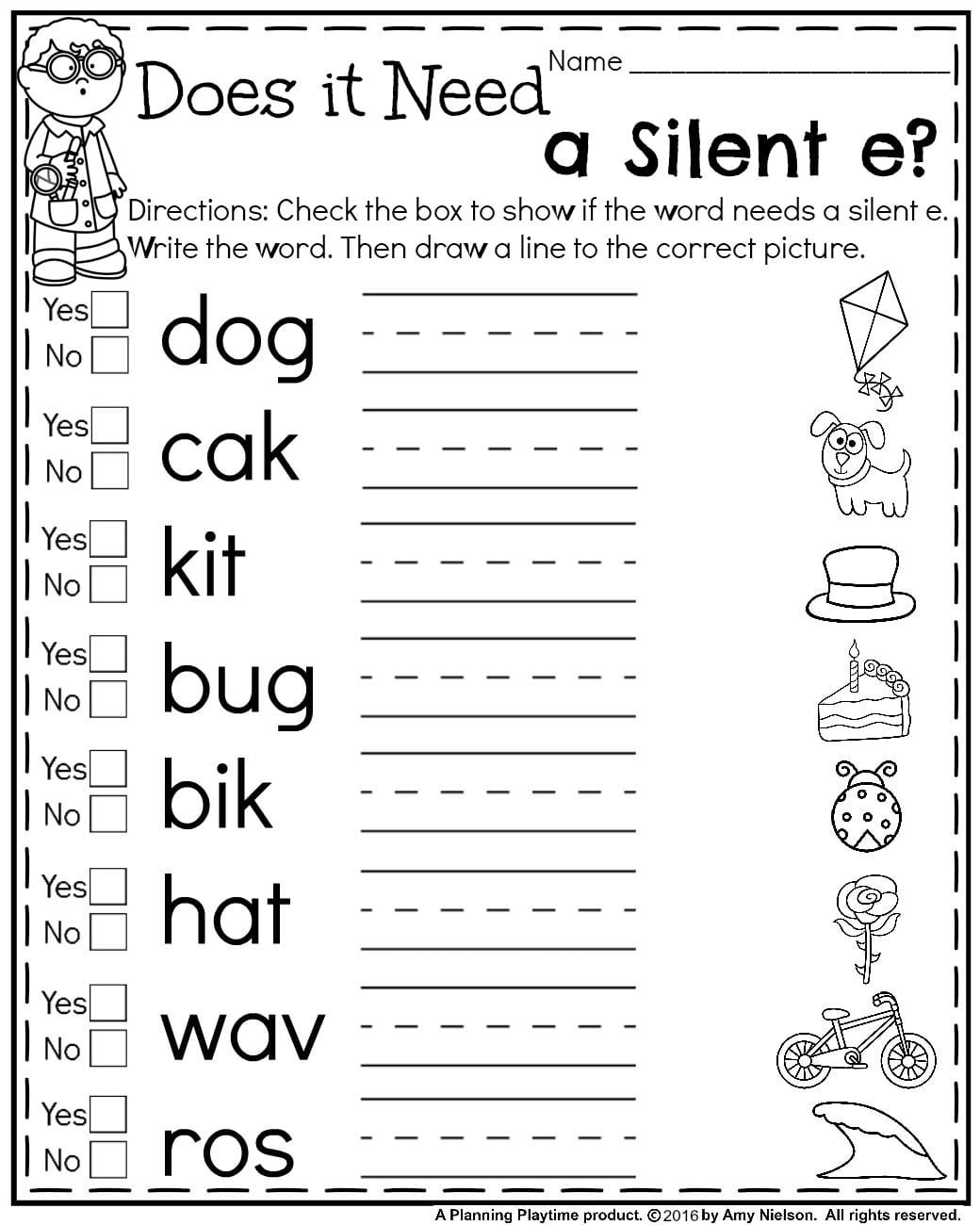 First Grade Summer Worksheets | Phonics | First Grade Worksheets