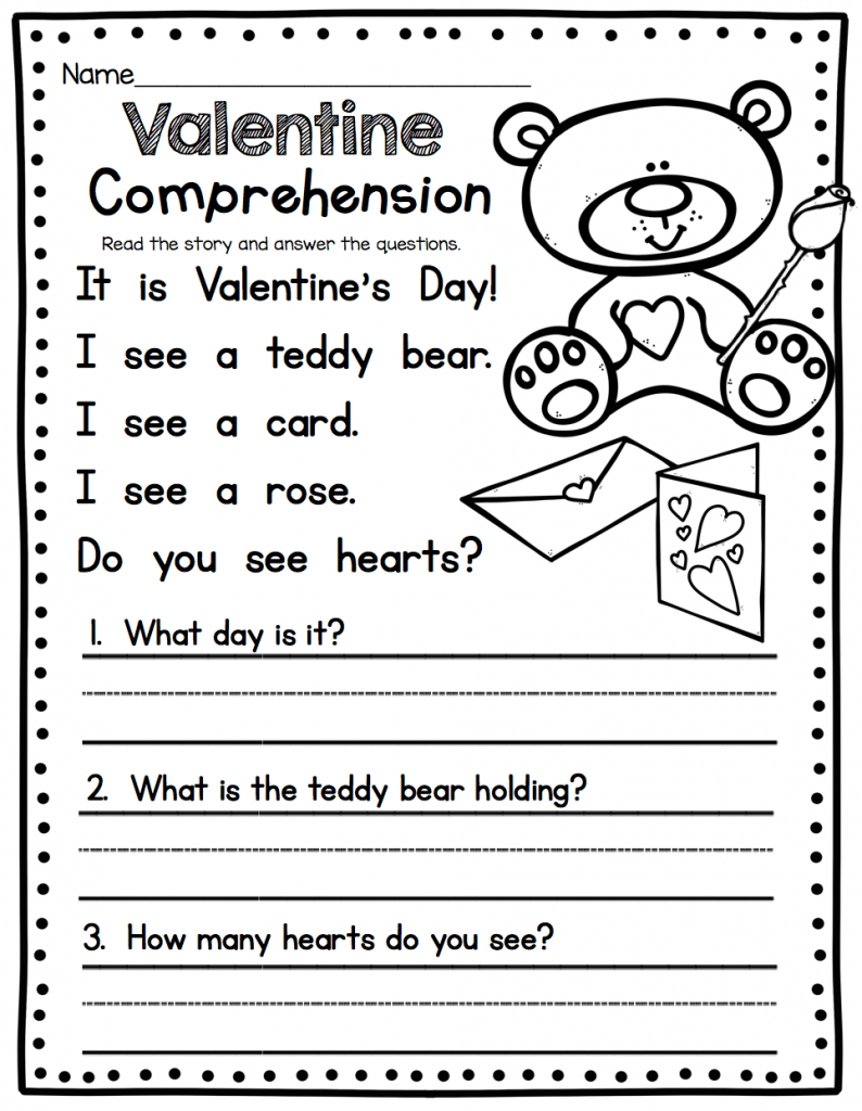 - 1st Grade English Worksheets School Worksheets Kindergarten On