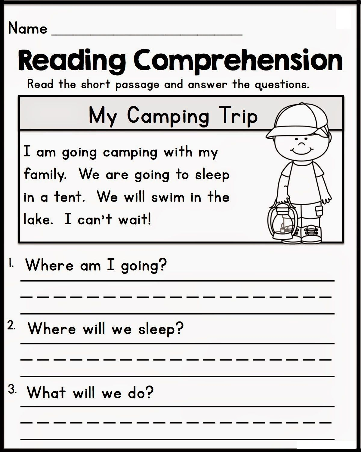 - Free Reading Comprehension Online Worksheets For Kids Learning