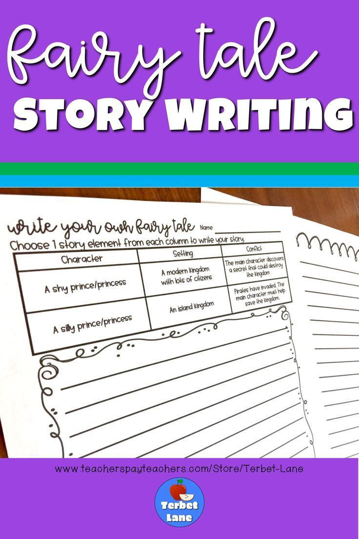 - Fairy Tale Story Writing Worksheets Ela 3rd- 5th Grades