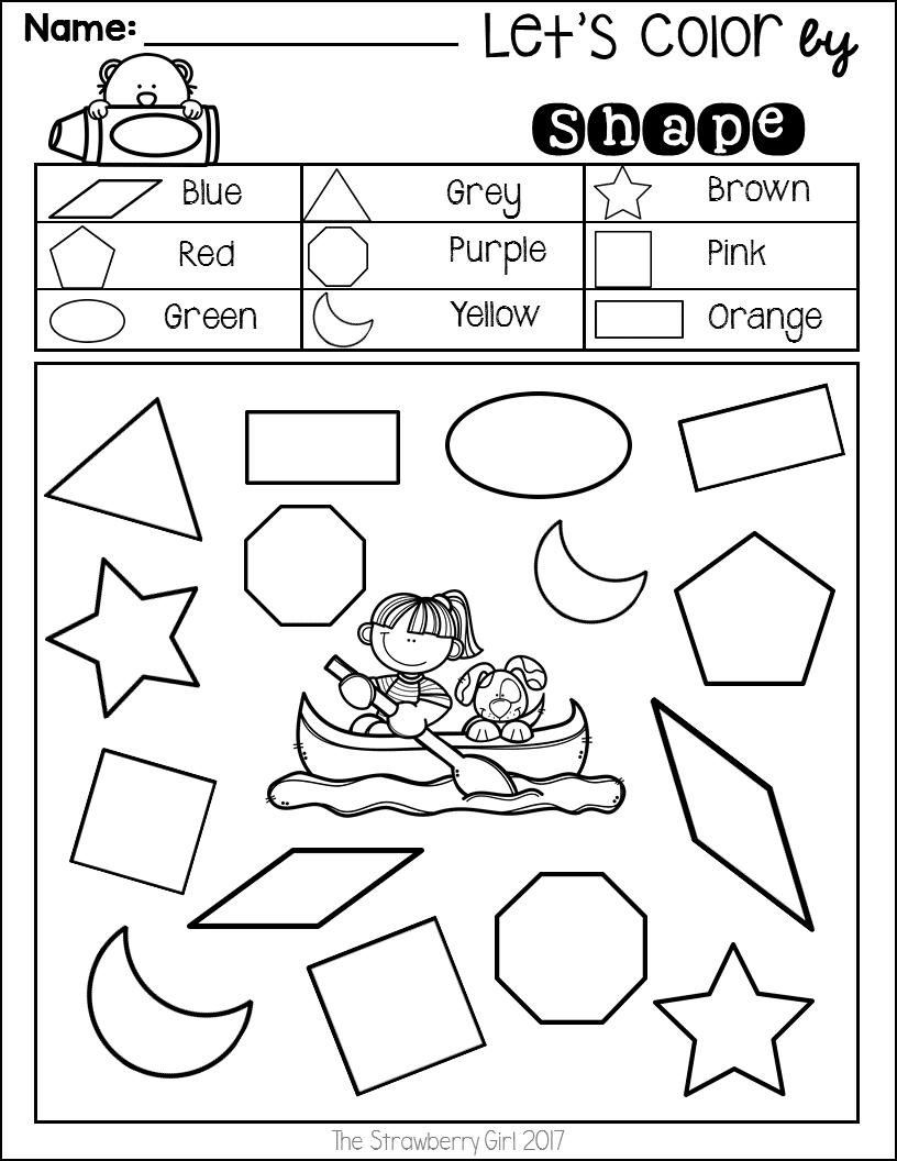 - Kindergarten Math Worksheets - Summer