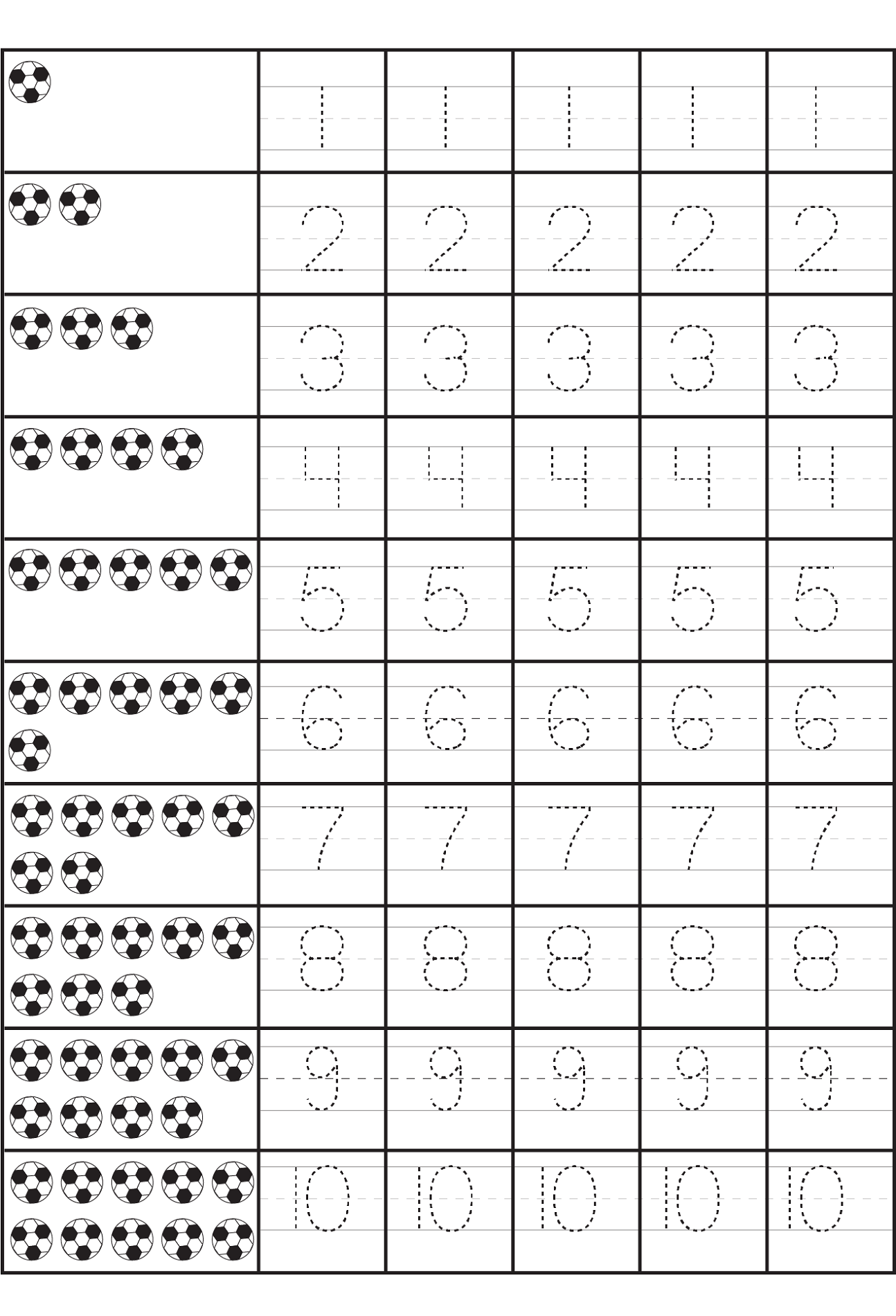 Counting Worksheets | Counting Activities | Preschool Math ...