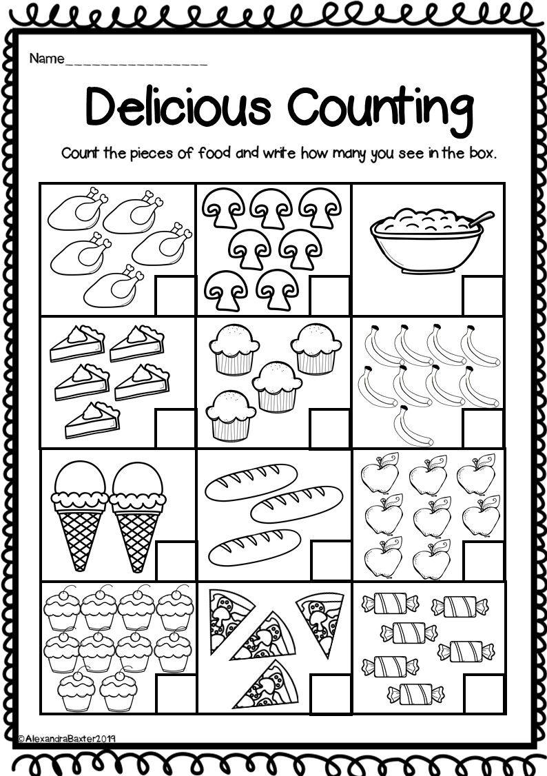Free Printable Kindergarten Number Worksheets | Primero ...