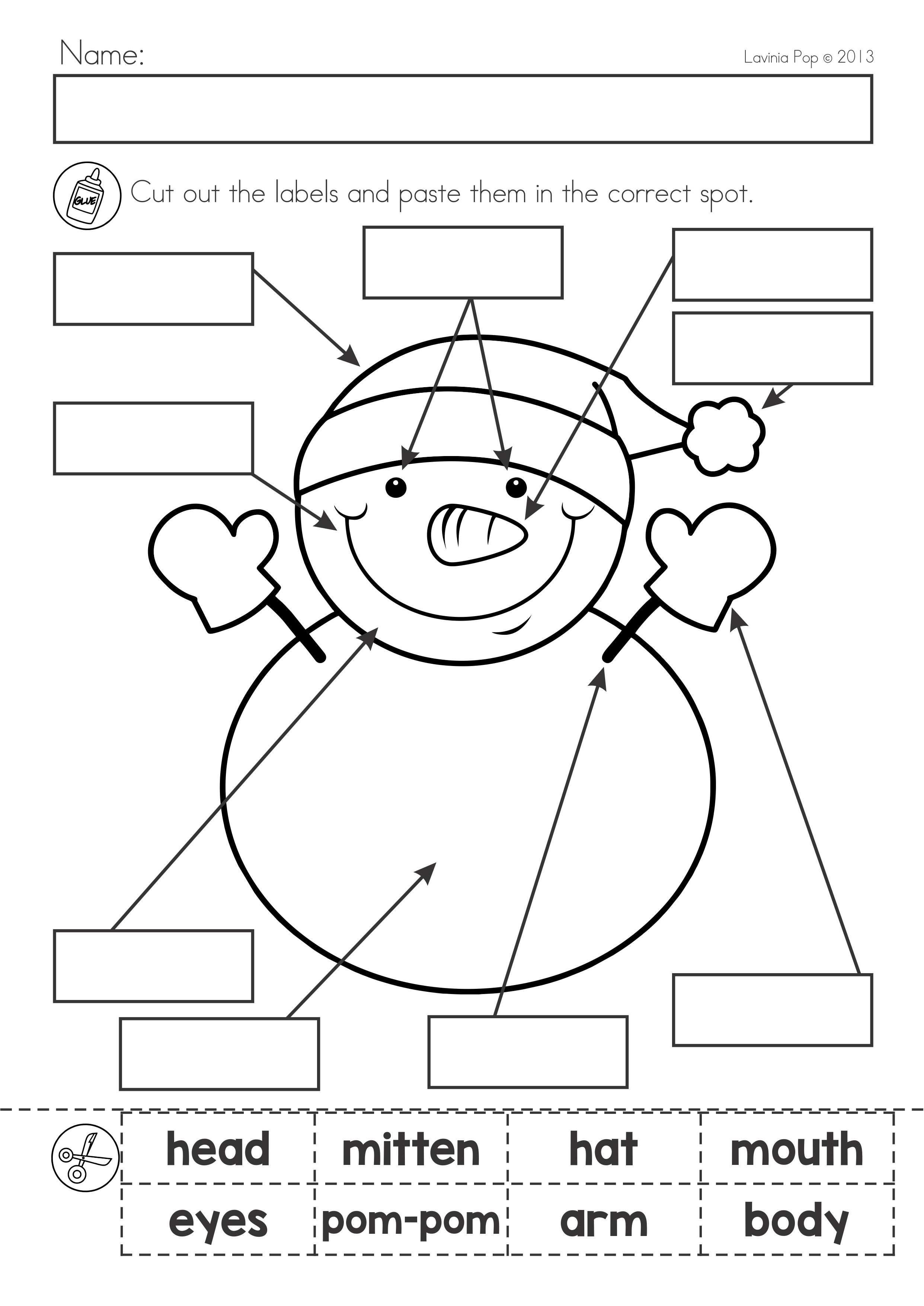 - Winter Literacy Worksheets And Activities No Prep First Grade