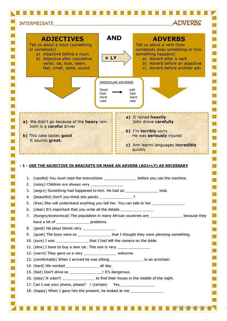 5 Best Frequency Adverbs Worksheets Images On Best Worksheets Collection
