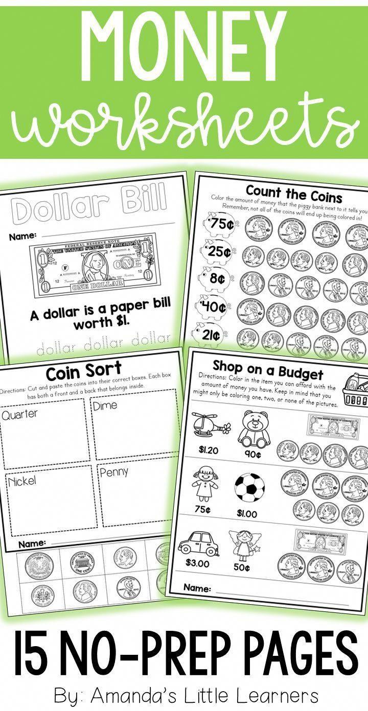 Money Worksheets | School Ideas | Money Worksheets, Budgeting