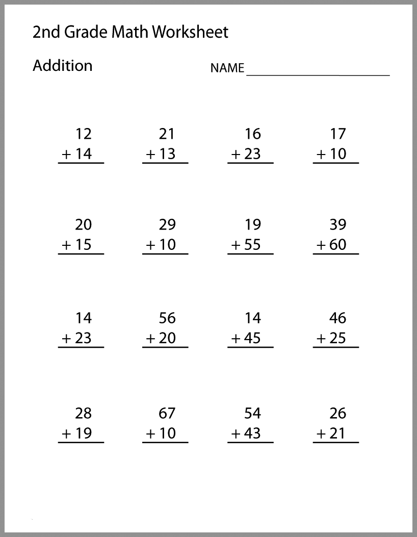 - 2nd Grade Math Worksheets Summer Math 2nd Grade Math