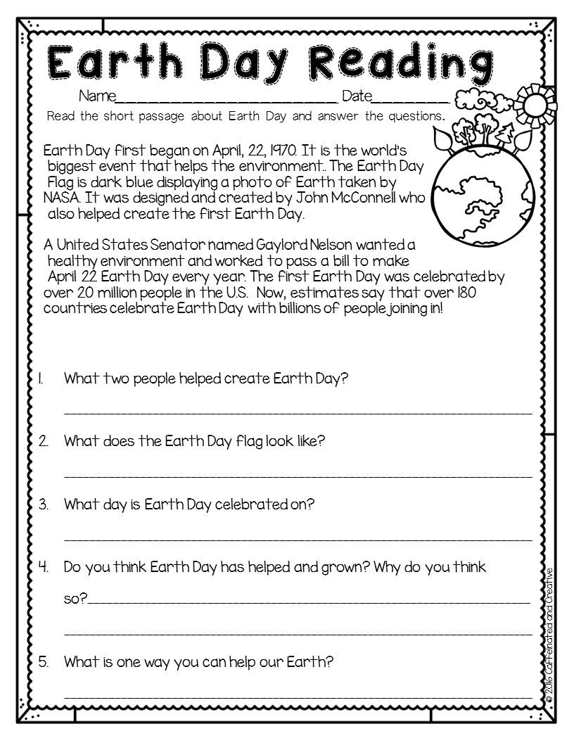 - Spring Into Spring Holidays Earth Day Worksheets, Earth Day On
