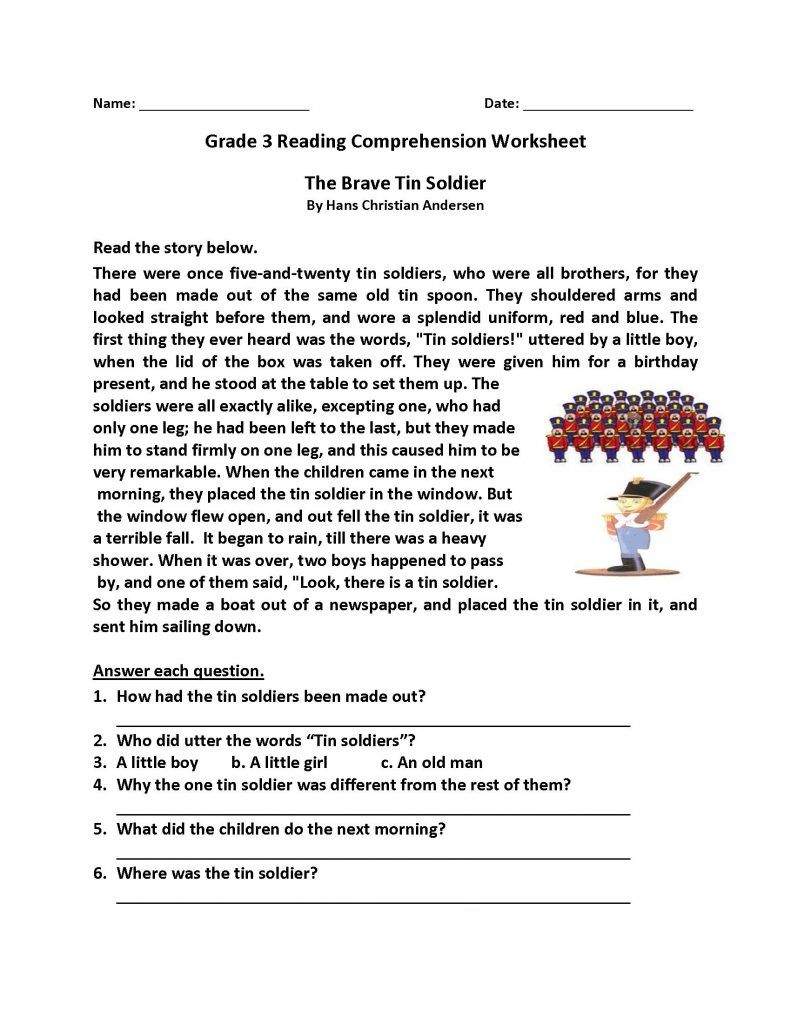 - Reading Comprehension Worksheets Speaking Prehension On Best