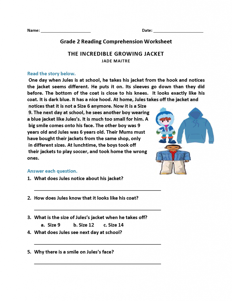 - 2nd Grade Reading Worksheets Education 2nd Grade Reading On