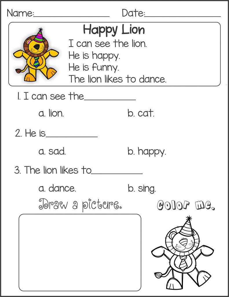 - Kindergarten English Worksheets Ela (tch 314) English On Best