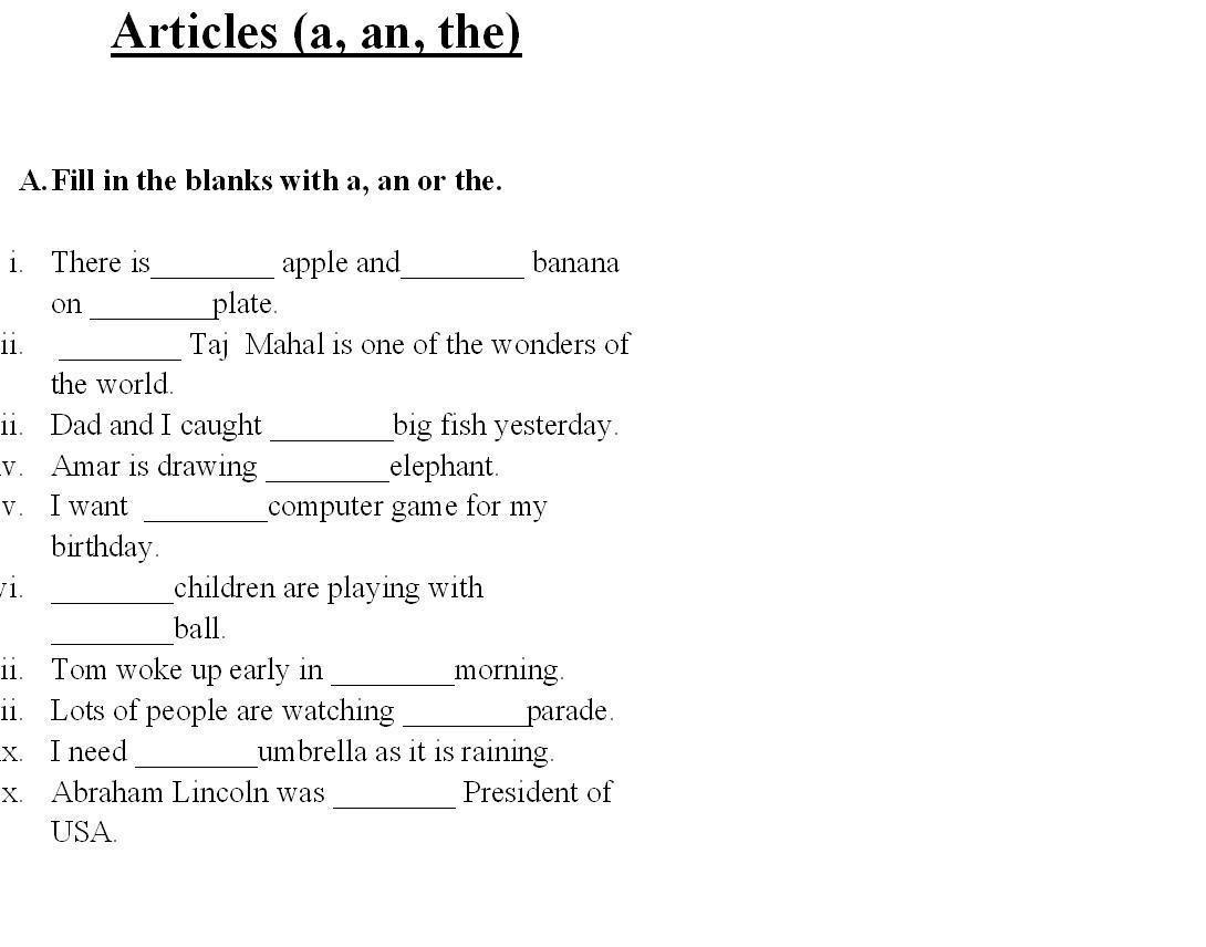- Saved Free Printable English Grammar Worksheets For Grade 6 On